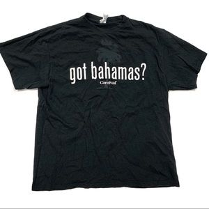 Got Bahamas? Adult XL Tourist Short Sleeve T-Shirt